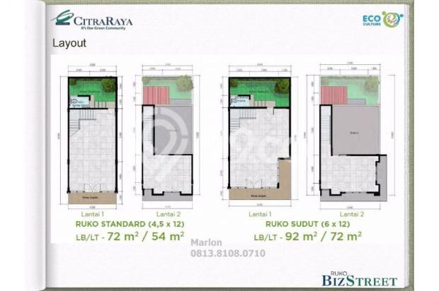 Ruko BizStreet Villaggio Citra Raya Tangerang. Harga Perdana 6882938