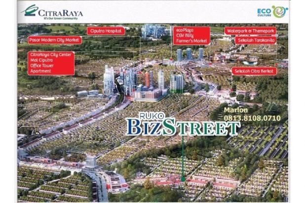 Ruko BizStreet Villaggio Citra Raya Tangerang. Harga Perdana 6882940