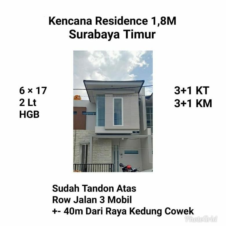 Rumah murah kencana residence kedung cowek ampel surabaya nego