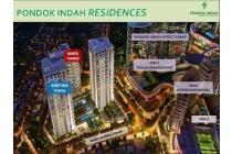Dijual apartemen Pondok Indah Residence 1BR / 2BR Tower Maya
