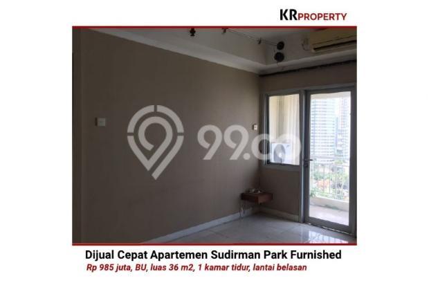 Indah KR Property - Dijual Cepat Sudirman Park Furnished 36m2 081310298999 12398673