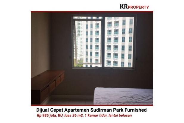 Indah KR Property - Dijual Cepat Sudirman Park Furnished 36m2 081310298999 12398669