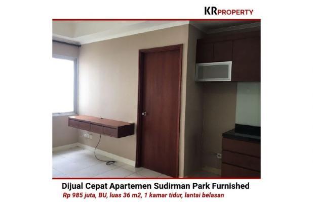 Indah KR Property - Dijual Cepat Sudirman Park Furnished 36m2 081310298999 12398671
