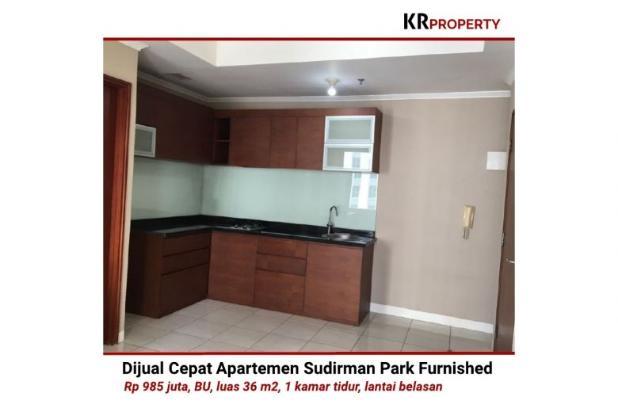 Indah KR Property - Dijual Cepat Sudirman Park Furnished 36m2 081310298999 12398670