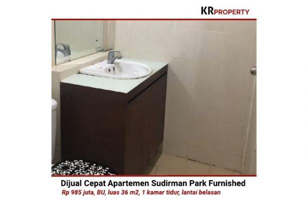Indah KR Property - Dijual Cepat Sudirman Park Furnished 36m2 081310298999 12398672