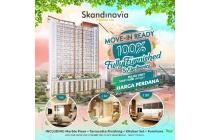 Apartemen Tangcity TOP LEVEL 2BR Skandinavia dkt Mall Tangerang Bandara TOL