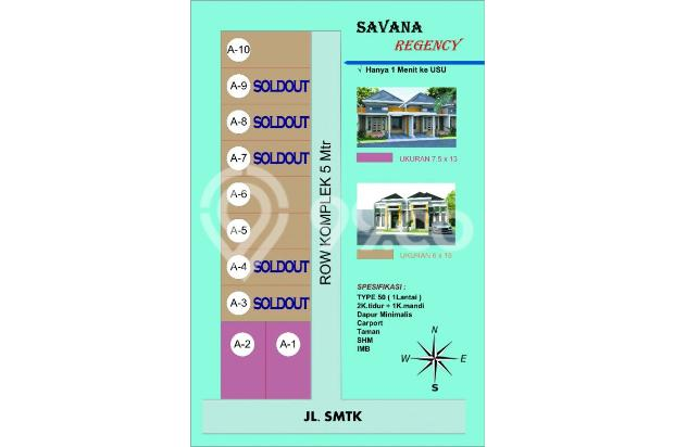 Miliki segera hunian paling murah,nyaman dan asri Savana SMTK 1 13425384