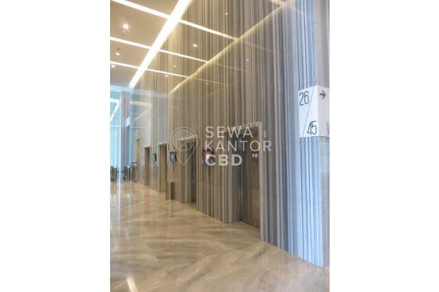 Sewa Kantor Centennial Tower 100 M2 (Bare) 20 jtan 13243655