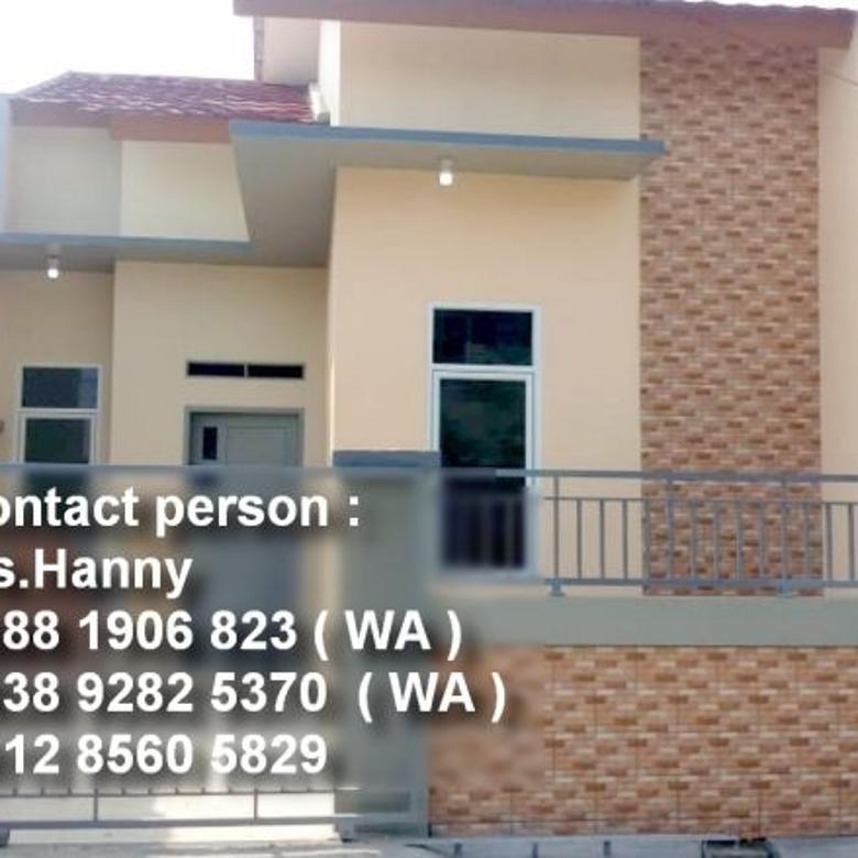 Rumah Berbaja Ringan lantai GRANIT Harga Elok di Puri Harapan
