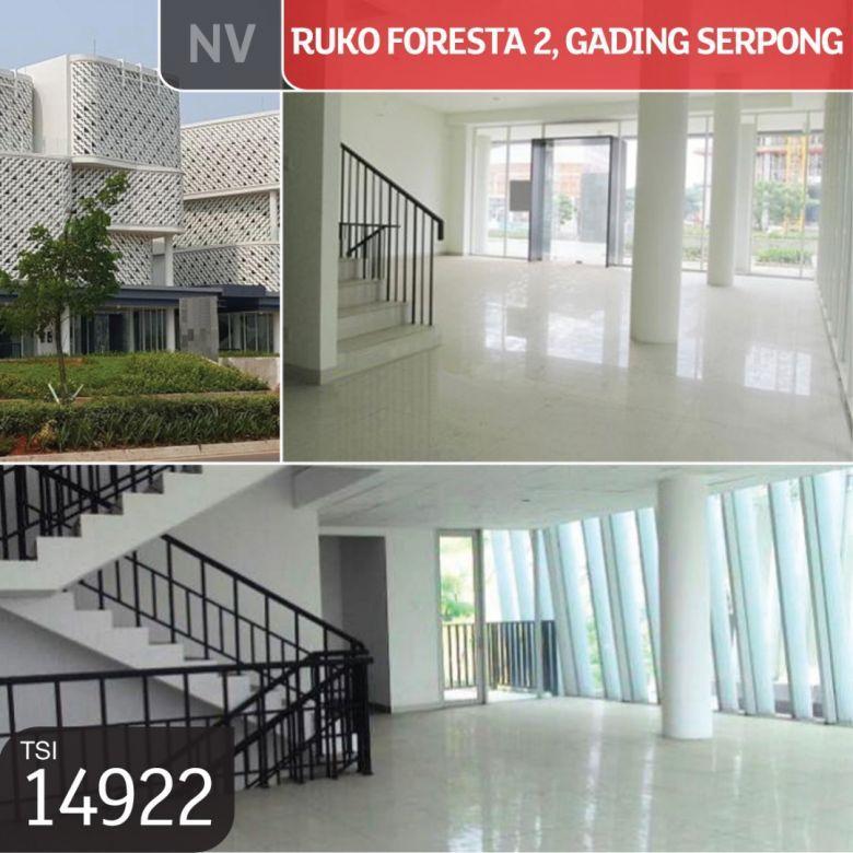 Ruko Foresta 2, Gading Serpong, Tangerang, 10x19,8m, 4½ Lt, PP
