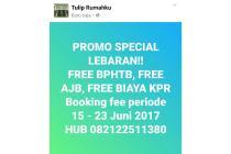 RUMAH 2LANTAI 800Jutaan - FREE AJB, FREE BPHTB ,FREE BIAYA KPR