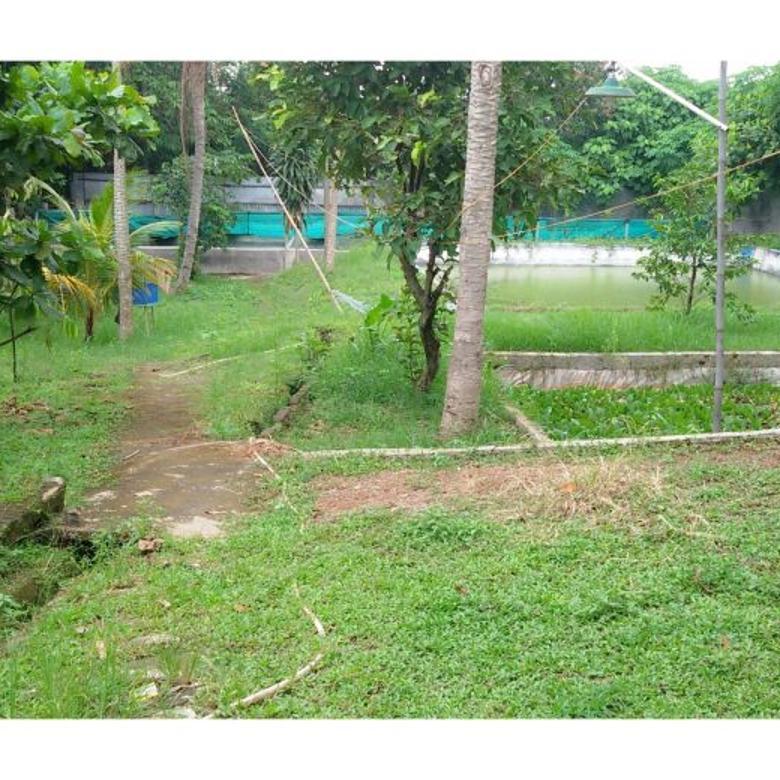 Tanah Untuk Investasi apapun Bagus Lokasi dipinggir jalan Pamulang