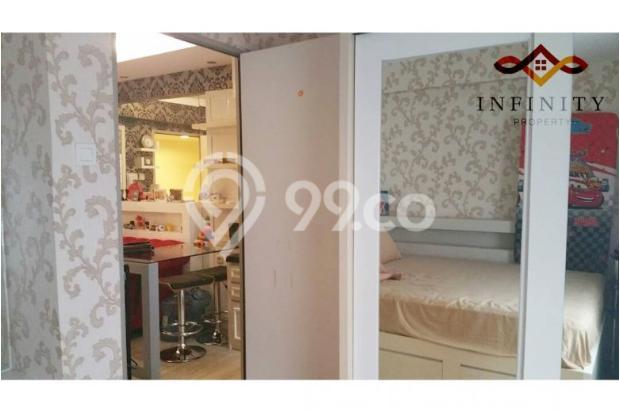 dijual apt greenbay pluit 2BR tower H, view pool, full furnish 700jt 12898465