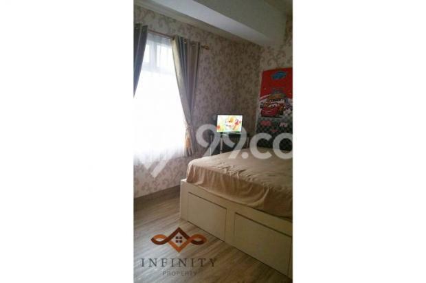 dijual apt greenbay pluit 2BR tower H, view pool, full furnish 700jt 12898466