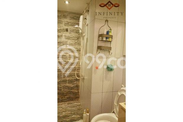 dijual apt greenbay pluit 2BR tower H, view pool, full furnish 700jt 12898470