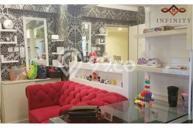 dijual apt greenbay pluit 2BR tower H, view pool, full furnish 700jt 12898469