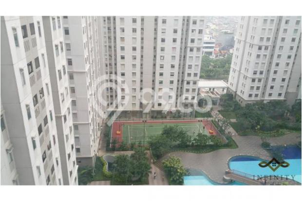 dijual apt greenbay pluit 2BR tower H, view pool, full furnish 700jt 12898472
