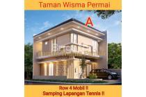 Baru Rumah 2 Lantai Jalan Utama Taman Wisma Permai Lingkungan