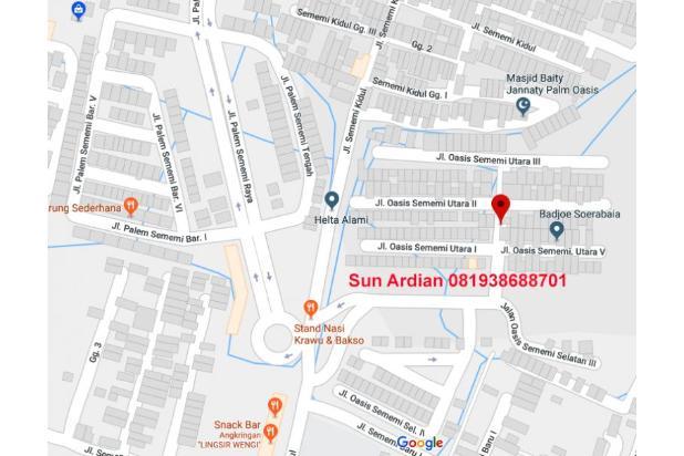 Rumah 2 lantai di Perumahan Palm Oasis, Sememi, Surabaya barat 15010070