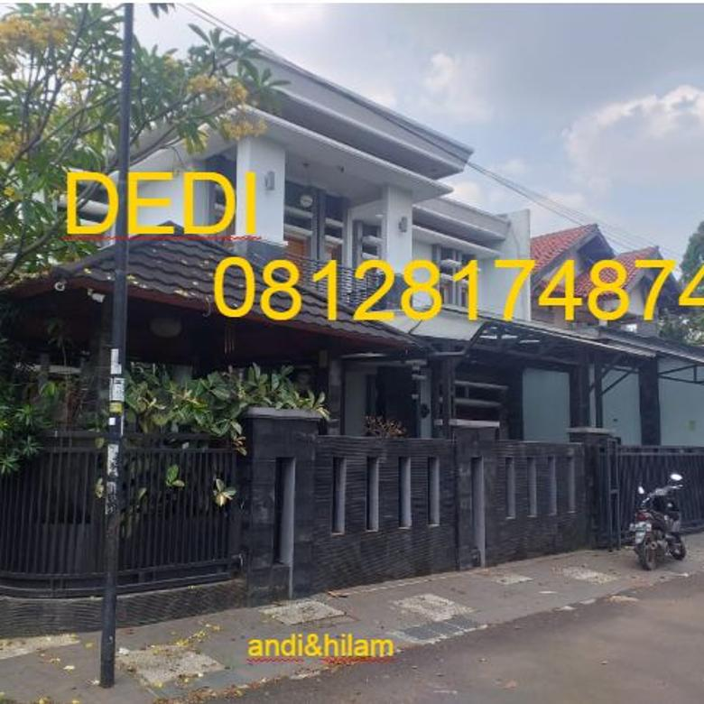 rumah lux strategis di bukit cimanggu city