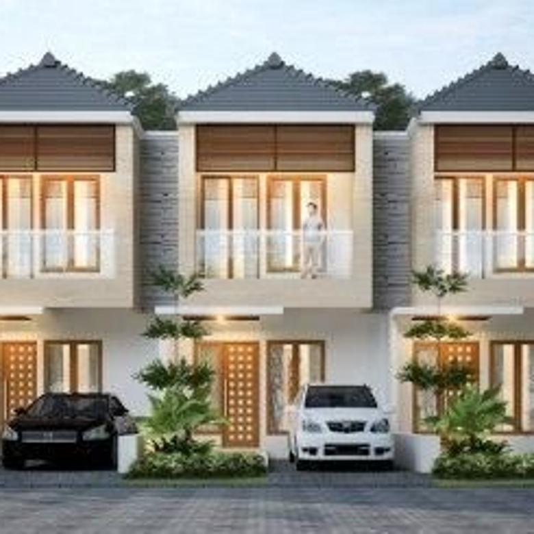 Rumah 2 lantai harga 1 lantai hanya 5 menit exit tol seroja
