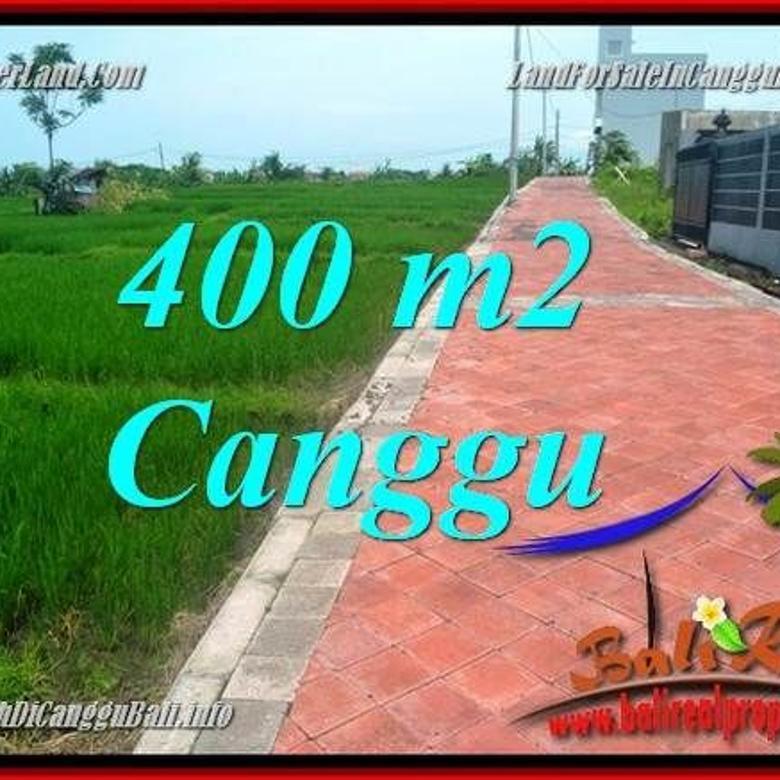 400 m2 View sawah lingkungan villa Cuma 3,6 jt/m di Canggu Pererenan CG219