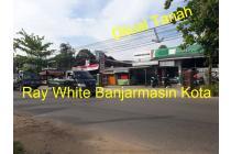 Dijual Tanah Borongan di Jalan Sultan Adam Banjarmasin