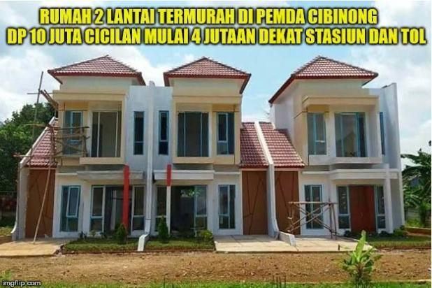 Promo Menarik Menanti Anda.  Miliki Rumah di Pemda Cibinong Bogor hanya dengan DP 10 Juta..... 14317237