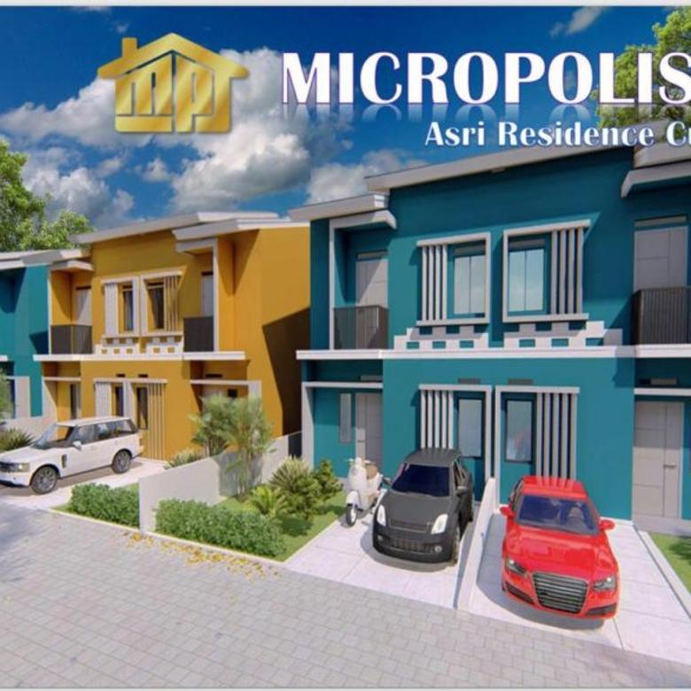 Rumah Indent, 2 Lantai, Free BPHTB/AJB, Micropolis, Curug