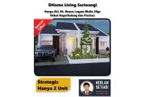 Rumah Baru dijual Bonus LgamMulia Sariwangi dkt Cimahi Pasteur