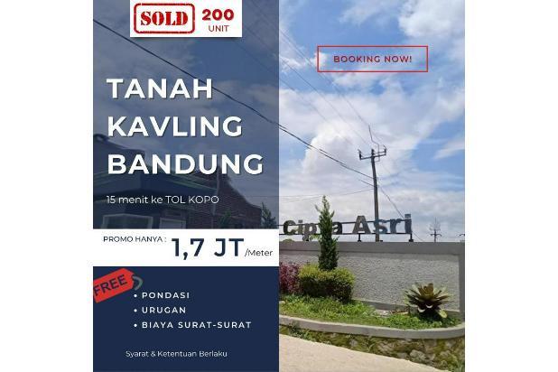 Rp76,5jt Tanah Dijual