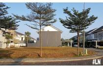 Kavling Hoek LT 854m di Cluster Palm Spring, Jakarta Garden City JGC, Cakun