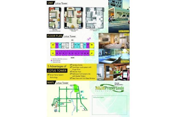 Rp914jt Apartemen Dijual