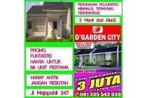 Perumahan Mojokerto Baru Minimalis KPR Subsidi D'Garden City