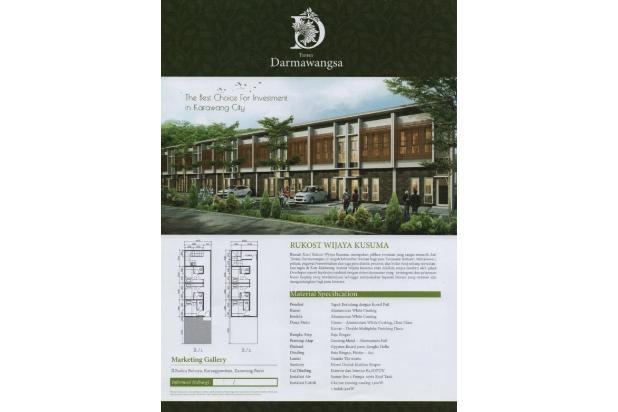 investasi terkini, bangunan baru. harga dibawah 1m. rukost karawang