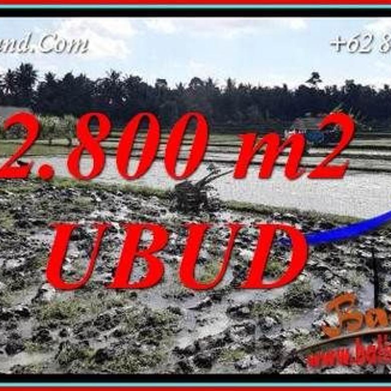 Affordable 2,800 sqm in Sentral Ubud