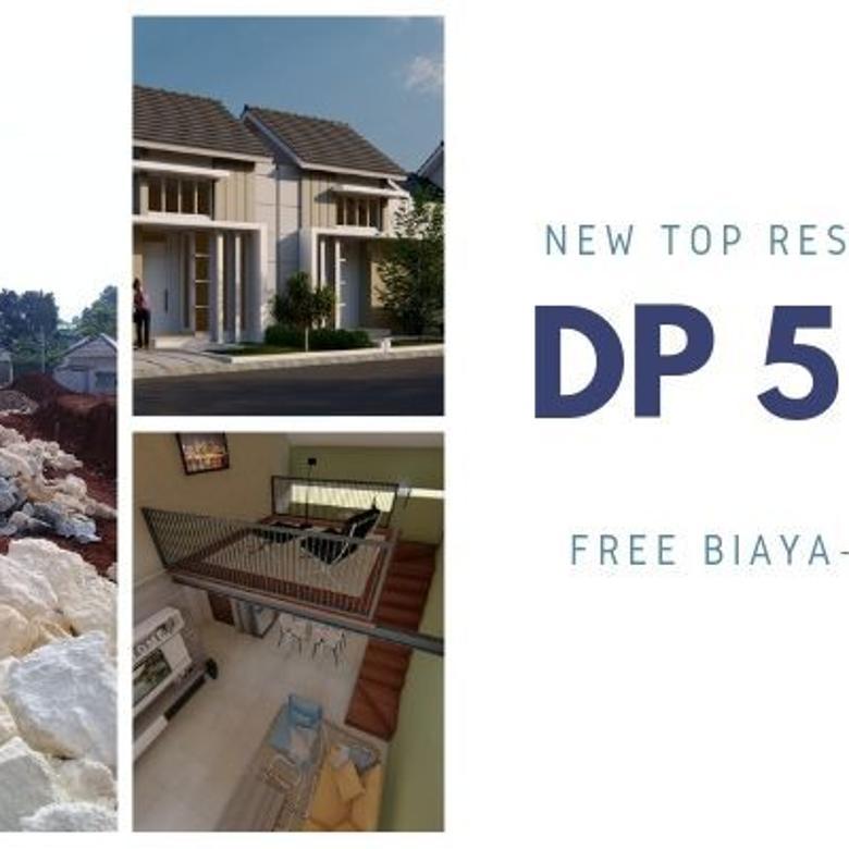 Rumah Mewah Fasilitas Internal Lengkap di Parung, DP 36jt!!