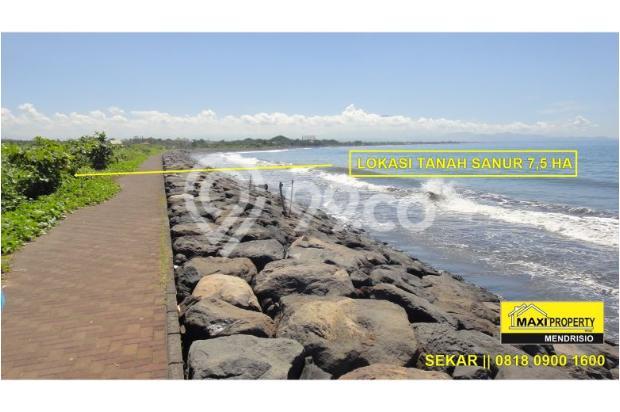 JUAL CEPAT TANAH SANUR BEACH FRONT PANTAI MATAHARI TERBIT LOKASI EXCLUSIVE 11654827