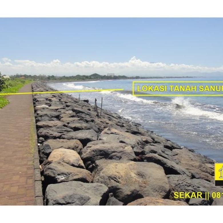 JUAL CEPAT TANAH SANUR BEACH FRONT PANTAI MATAHARI TERBIT LOKASI EXCLUSIVE