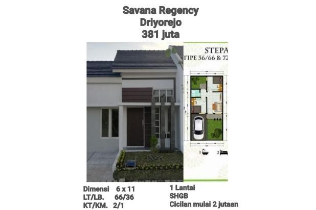 Rp381jt Rumah Dijual