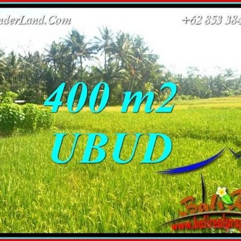 View Sawah 400 m2 di Sentral Ubud