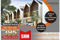 Dijual Villa Murah Puncak Harga Perdana Free Waterheater