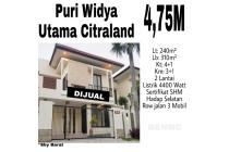 Rumah Puri Widya Utama Citraland Surabaya nego