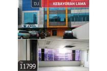 Ruko Kebayoran Lama, Jakarta Selatan, 4½ Lt, 7.5x31, HGB