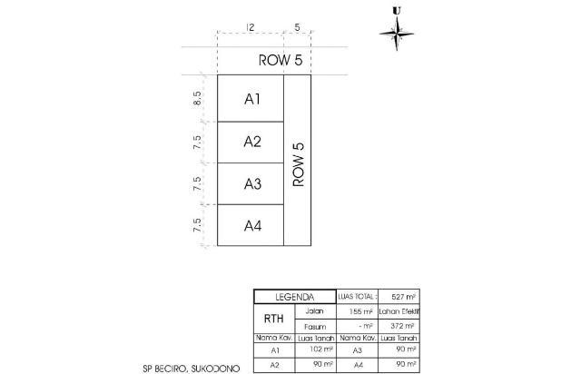 Rp134jt Tanah Dijual
