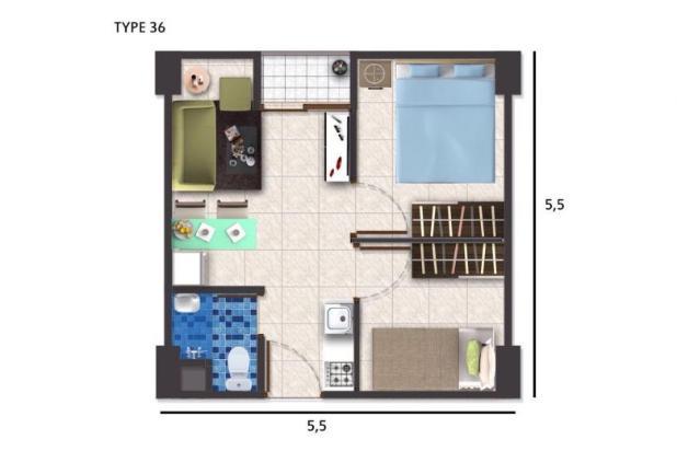 Rp99mily Apartemen Dijual