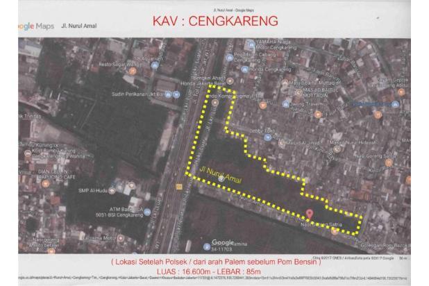 Dijual Tanah Kavling di Jl Raya Lingkar luar Barat Cengkareng 14418932