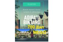 PROMO SUPER HOT... Rumah 2 lt di BINTARO, Graharaya, Tangsel