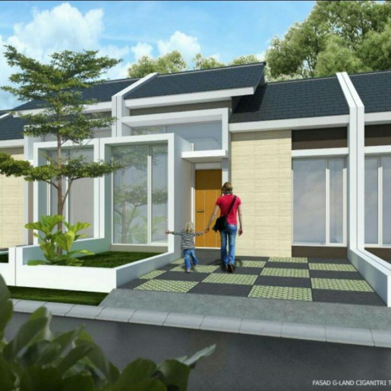 Rumah baru ciganitri buah batu dp 30 juta
