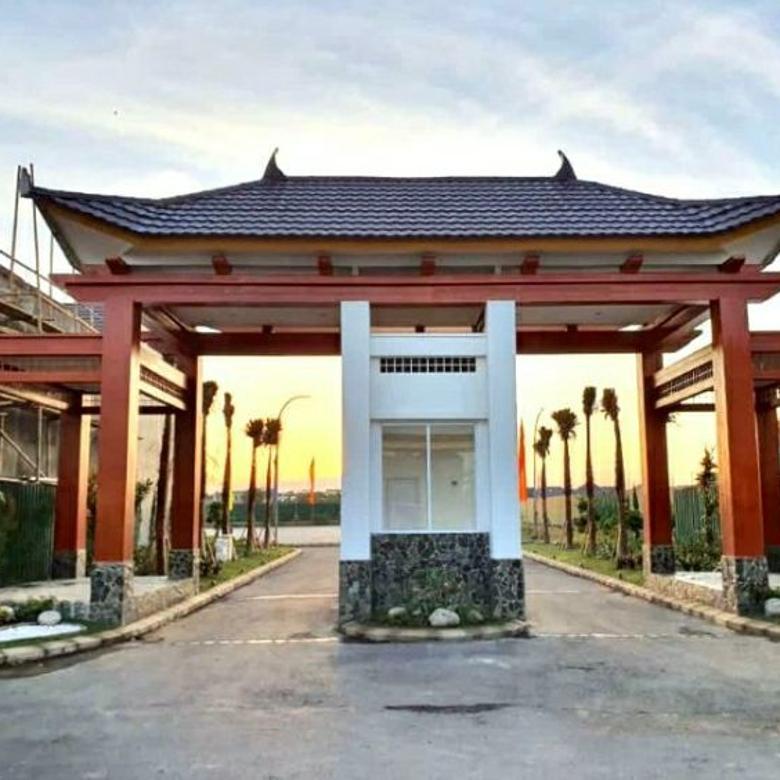 Dijual Rumah Mewah Berkonsep Jepang Dikelilingi Kampus & Mall